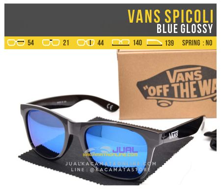 Jual Kacamata Gaya Vans Spicoli Blue Glossy