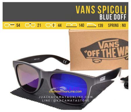 Trend Kacamata Gaya Vans Spicoli Blue Glossy