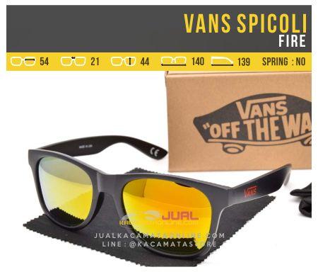 Model Kacamata Gaya Vans Spicoli Fire