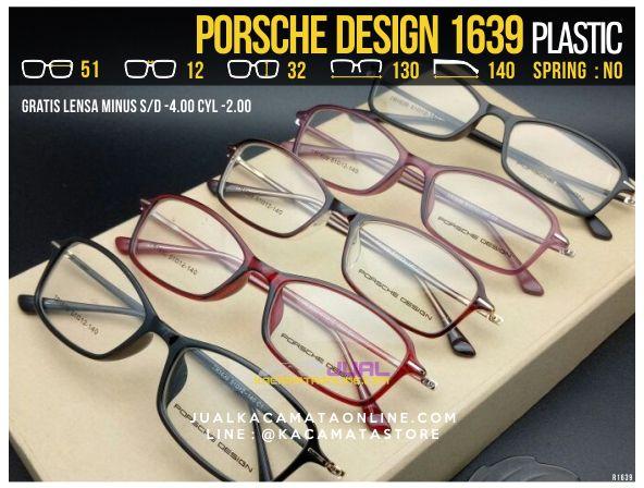 Jual Kacamata Gratis Lensa Porsche Design 1639