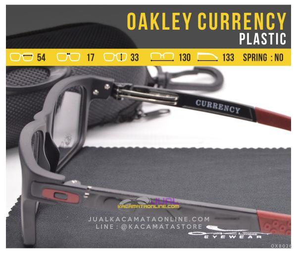 Kacamata Minus Murah Oakley Currency Terbaru