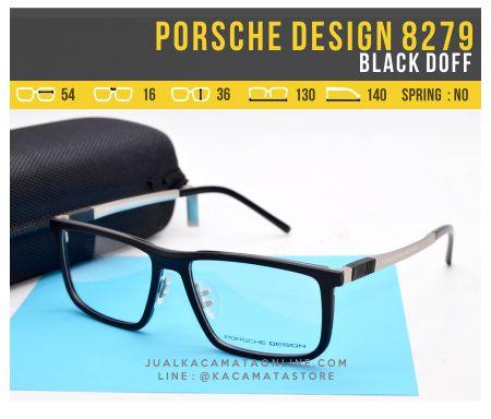 Grosir Kacamata Murah Porsche Design 8279 Black Doff