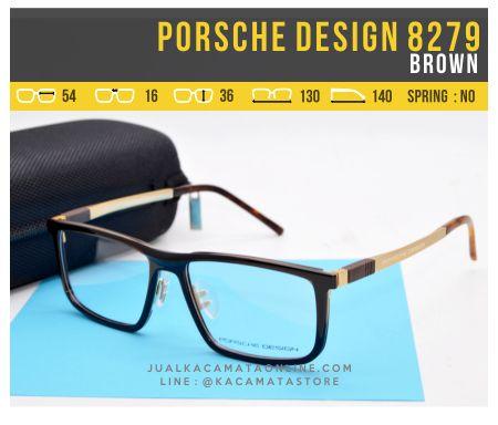 Gambar Kacamata Murah Porsche Design 8279 Brown