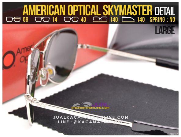 Grosir Kacamata Pilot American Optical Skymaster Large Diamond Lens
