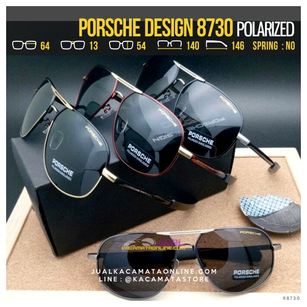 Jual Kacamata Polarized Porsche Design 8730 Murah