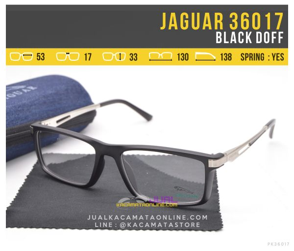 Gambar Kacamata Sporty Terbaru Jaguar 36017 Black Doff