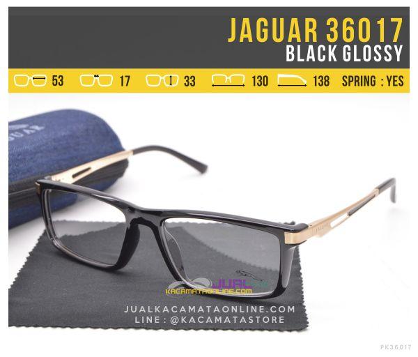 Harga Kacamata Sporty Terbaru Jaguar 36017 Black Glossy