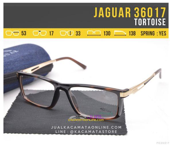 Trend Kacamata Sporty Terbaru Jaguar 36017 Tortoise