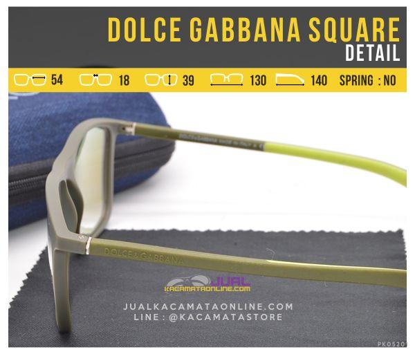 Jual Kacamata Trendy Terbaru Dolce Gabbana Square