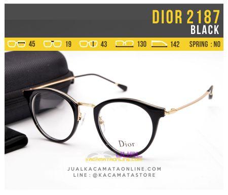 Kacamata Wanita Terbaru Dior 2187 Black