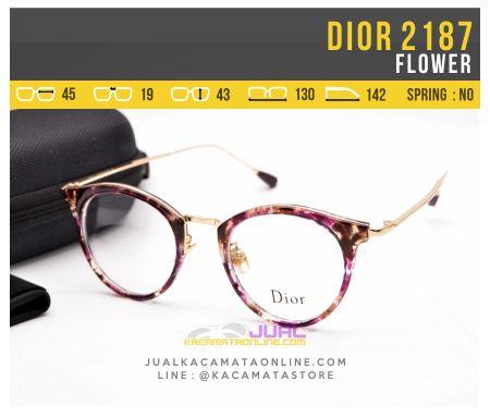 Kacamata Optik Terbaru Dior 2187 Flower
