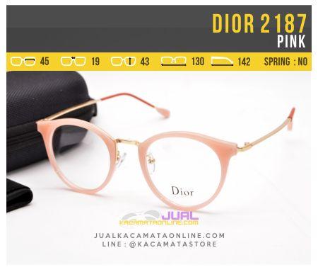 Kacamata Minus Terbaru Dior 2187 Pink