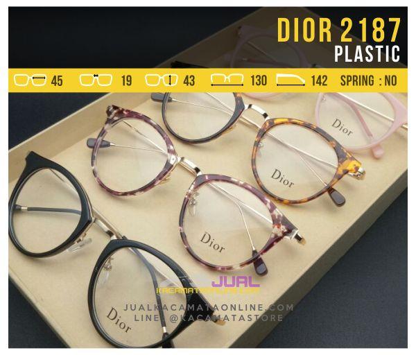 Kacamata Baca Terbaru Dior 2187 Plastic