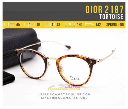 Kacamata Baca Terbaru Dior 2187 Tortoise