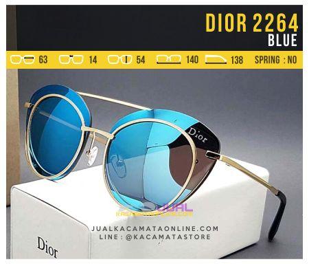 Kacamata Murah Model Terbaru Dior 2264 Blue