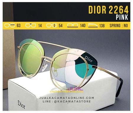 Kacamata Wanita Model Terbaru Dior 2264 Pink
