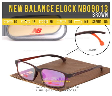 Harga Kacamata Minus Model Terbaru New Balance NB09013 Brown