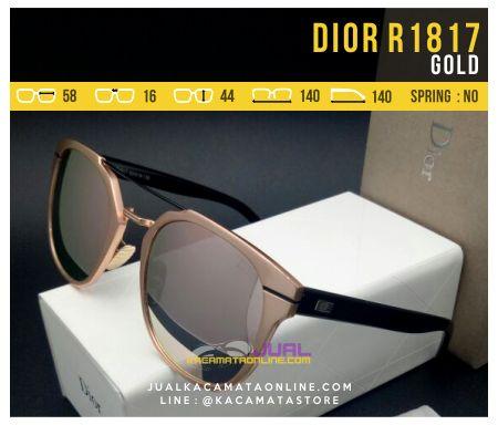 Kacamata Cewek Model Terbaru Dior 1817 Gold