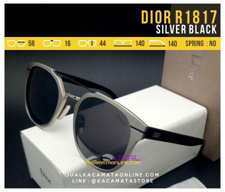 Kacamata Murah Model Terbaru Dior 1817 Silver Black