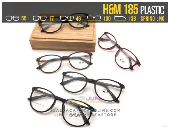Model Frame Kacamata Optik H&M 185 Terbaru