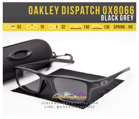 Jual Kacamata Terbaru Oakley Dispatch OX8066 Black Grey
