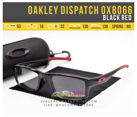 Gambar Kacamata Terbaru Oakley Dispatch OX8066 Black Red
