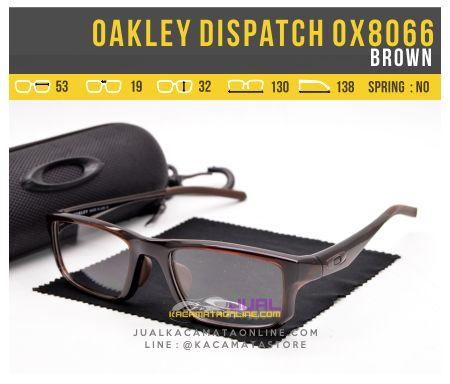 Harga Kacamata Terbaru Oakley Dispatch OX8066 Brown