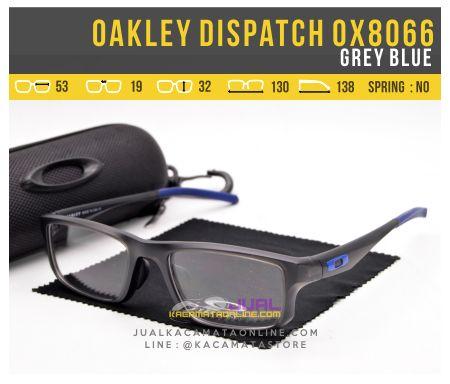 Model Kacamata Terbaru Oakley Dispatch OX8066 Grey Blue