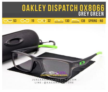 Model Kacamata Terbaru Oakley Dispatch OX8066 Grey Green