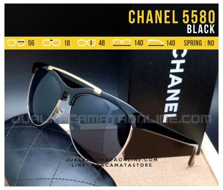 harga Kacamata Cewek Terbaru Chanel Most Turn Black