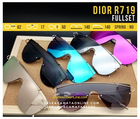 Model Kacamata Fashion Terbaru Dior 719 Fullset