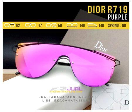 Trend Kacamata Fashion Terbaru Dior 719 Purple