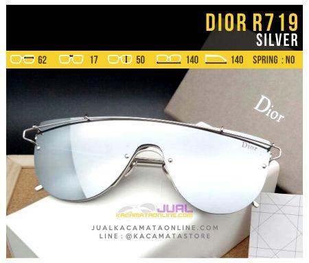 Harga Kacamata Fashion Terbaru Dior 719 Silver