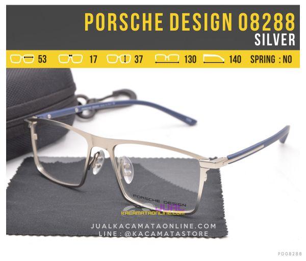 Model Kacamata Full Frame Porsche Design 08288 Silver