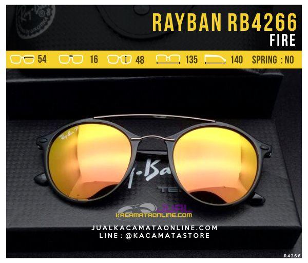 Gambar Kacamata Gaya Terbaru Rayban RB4266 Fire