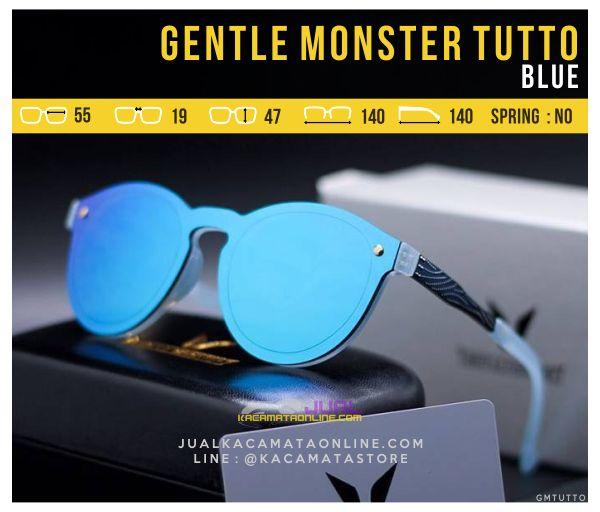 Gambar Kacamata Korea Terbaru Gentle Monster Tutto Blue