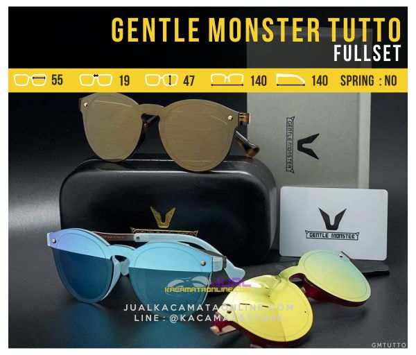 Kacamata Korea Terbaru Gentle Monster Tutto Fullset