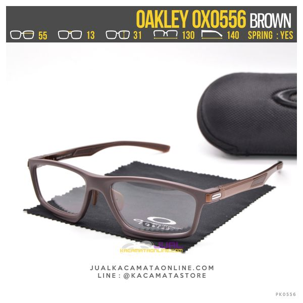 Jual Kacamata Minus Pria Terbaru Oakley OX0556 Brown