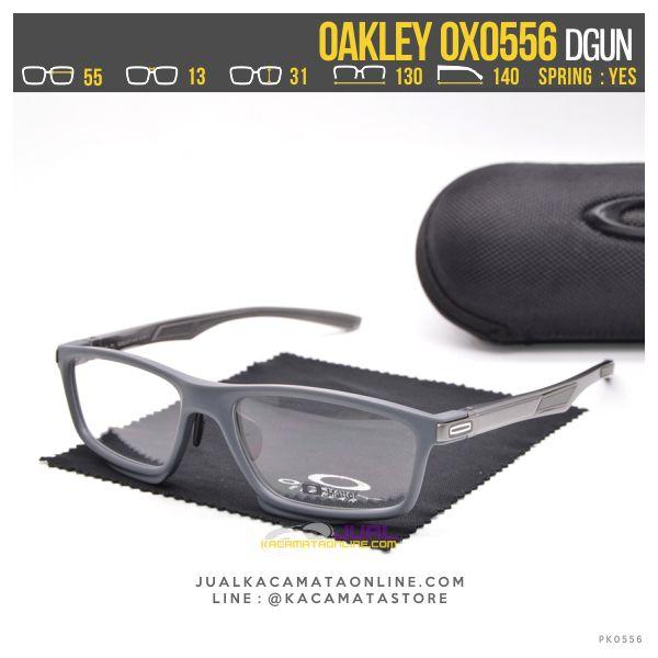 Model Kacamata Minus Pria Terbaru Oakley OX0556 Dgun