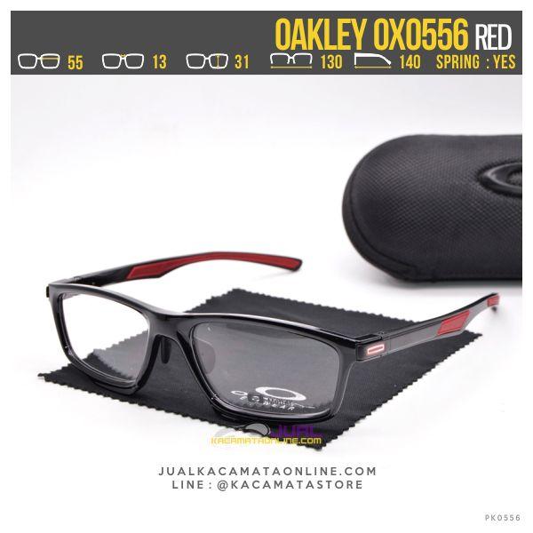Tremd Kacamata Minus Pria Terbaru Oakley OX0556 Red