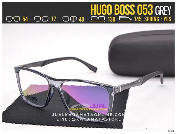 Model Kacamata Minus Terbaru Hugo Boss 053 Grey