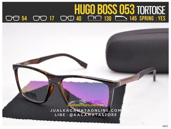 Trend Kacamata Minus Terbaru Hugo Boss 053 Tortoise
