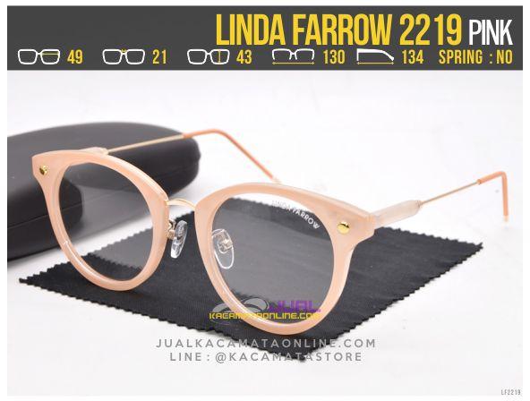 Jual Kacamata Minus Terbaru Linda Farrow 2219 Pink