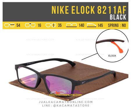 Model Kacamata Minus Terbaru Nike Elock 8211AF Black