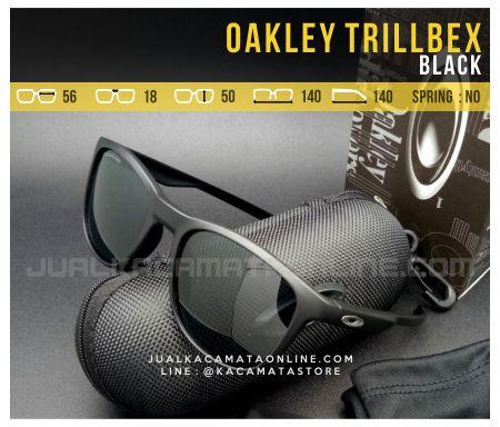 Model Kacamata Oakley Trillbex Black