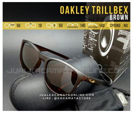 Jual Kacamata Oakley Trillbex Brown