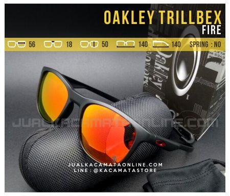 Trend Kacamata Oakley Trillbex Fire