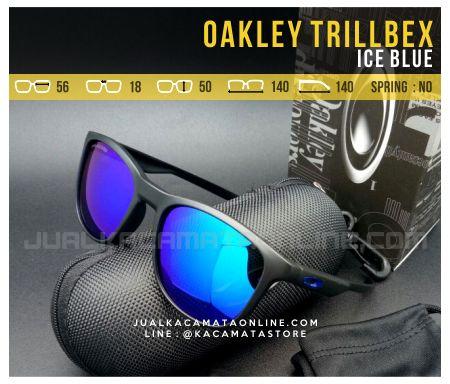 Toko Kacamata Oakley Trillbex Ice Blue