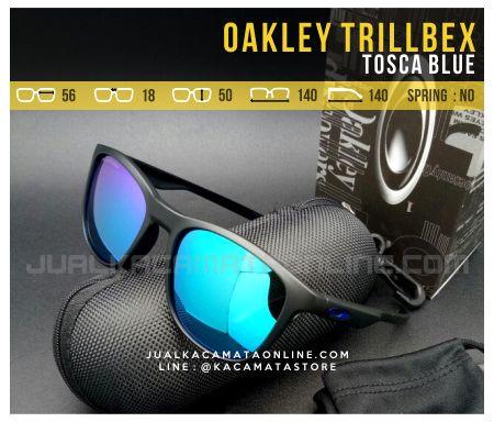 Gambar Kacamata Oakley Trillbex Tosca Blue
