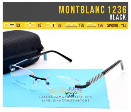 Trend Kacamata Baca Terbaru MontBlanc 1236 Black